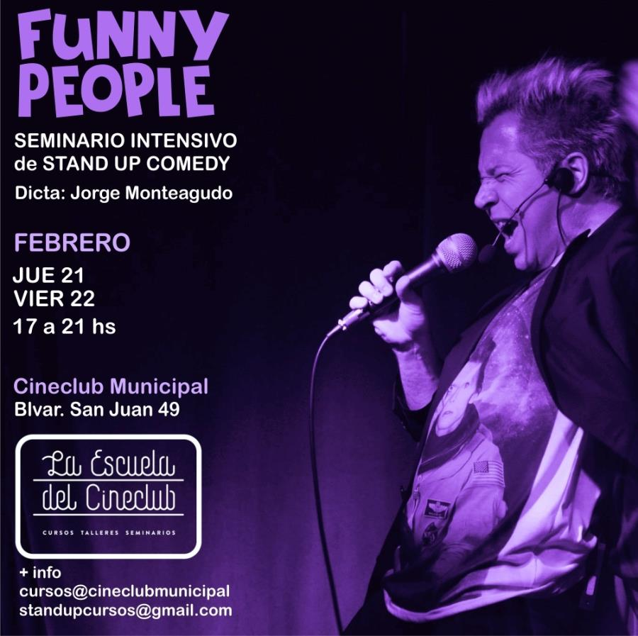 Funny People - Seminario Intensivo de Stand Up