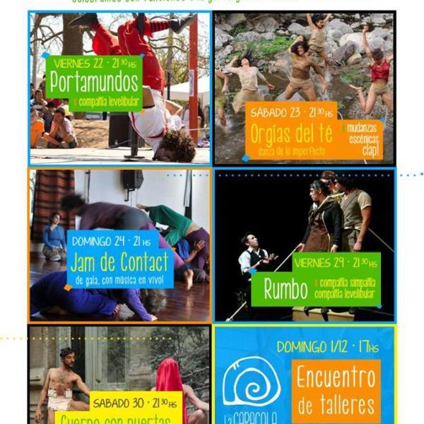 Festival en LA CARACOLA noviembre nos festejamos... 2013 se va de fiesta...