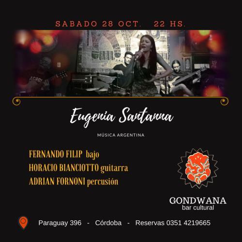 Eugenia Santanna - música argentina -