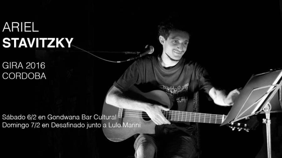 Ariel Stavitzky en Gondwana Bar Cultural (CORDOBA CAPITAL)