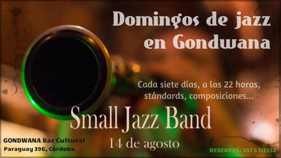 Small Jazz Band en Domingos de Jazz de Gondwana