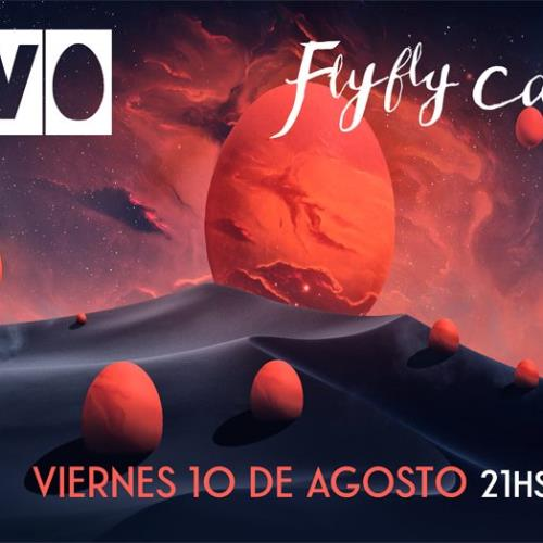 HUEVO y Fly Fly Caroline en CBA - Studio Theater