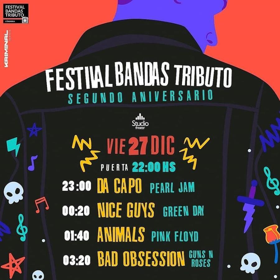 2do Aniversario Festival Bandas Tributo Cba