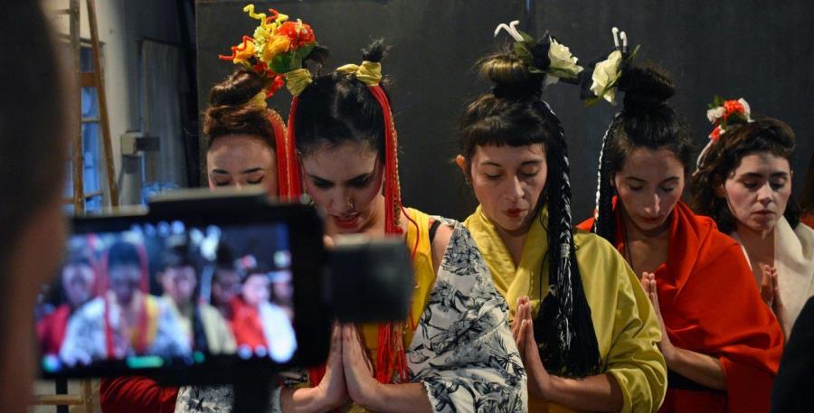 """""""Okichi Aqui Pantera"""". Elenco Municipal de Danza Teatro"""