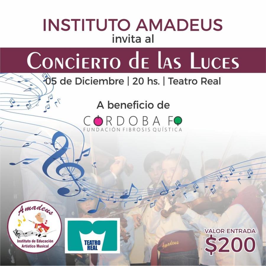 Instituto Amadeus Concierto de las Luces 6ta Edición
