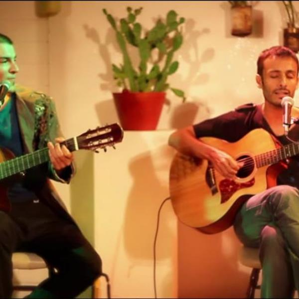 Seba Ibarra y Lucas Heredia en Córdoba #HaciaElPaìsDeLaCanción