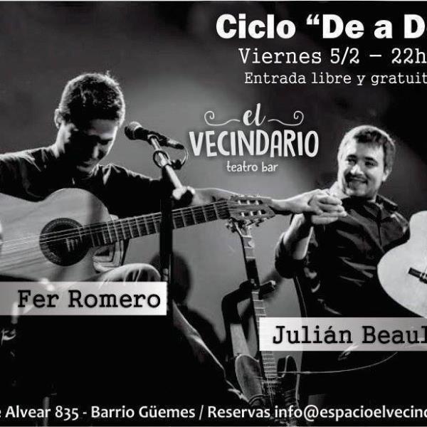 Fer Romero & Julian Beaulieu | Ciclo de a Dos