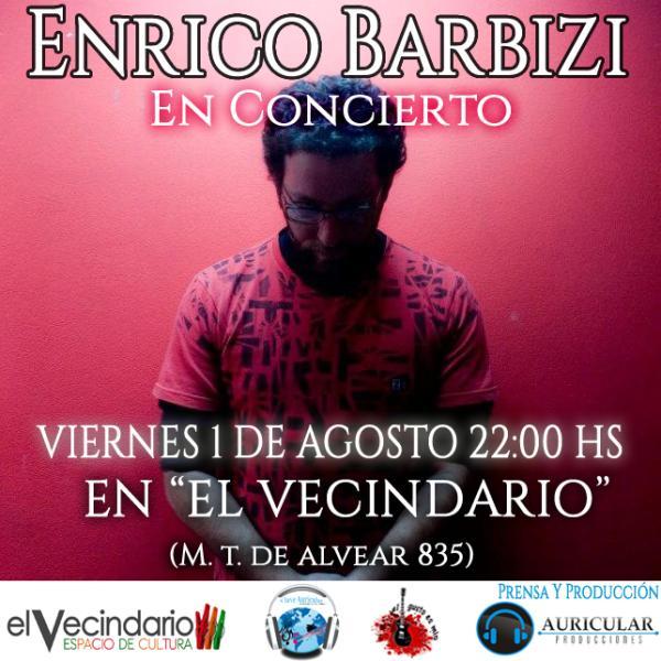 """Enrico Barbizi """"EN CONCIERTO"""""""