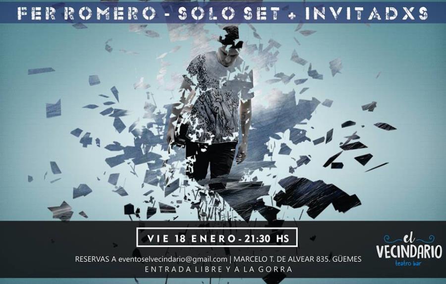 Fer Romero Set Solo + Invitadxs