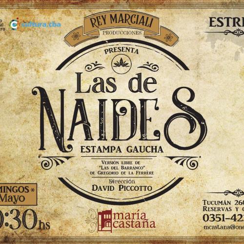 """""""Las de Naides – Estampa Gaucha"""""""