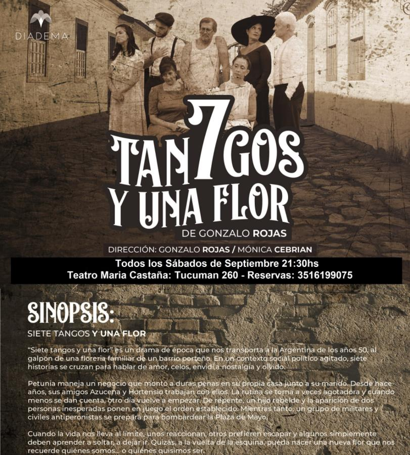 """""""Siete tangos y una flor"""""""