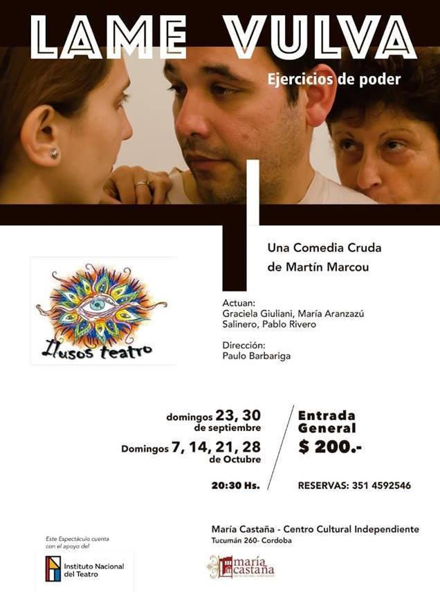 Lame Vulva (Ejercicios de Poder) en Teatro María Castaña