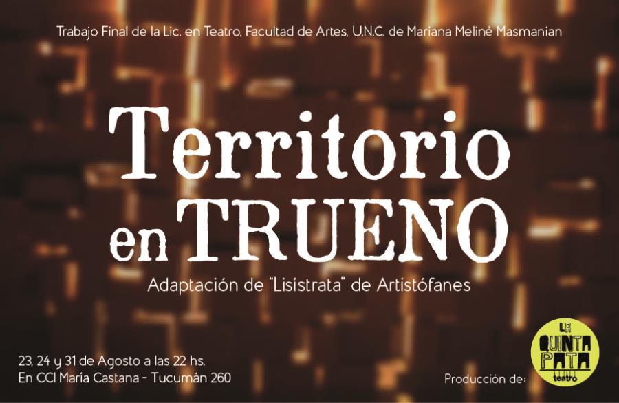 """""""Territorio en trueno"""""""