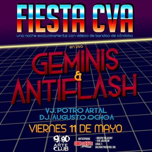 """¡Fiesta CVA! """"2da Edición"""" con Geminis y AntiFlash en vivo"""