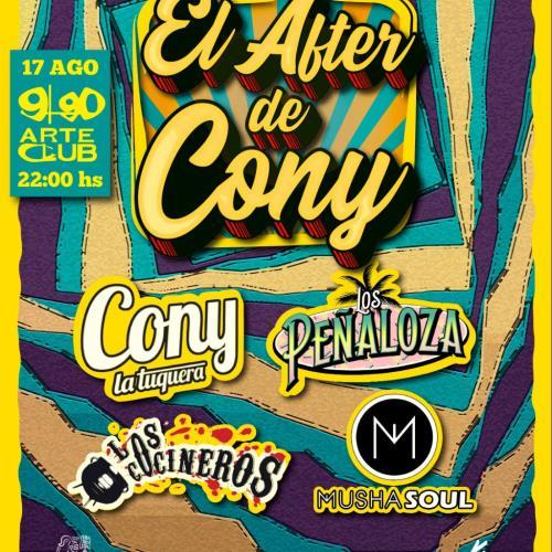 El After de Cony, segunda edición