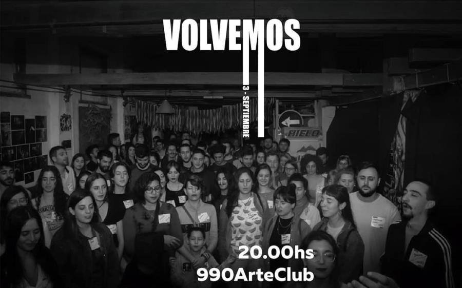 Volvemos- Torres Gemelas en 990 Arte Club - 3 de Septiembre 20hs