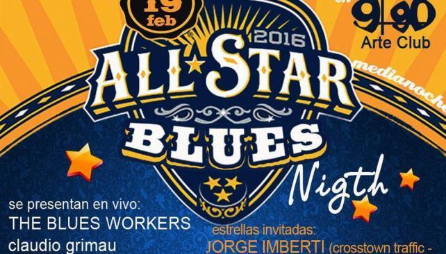 All Stars Blues Night
