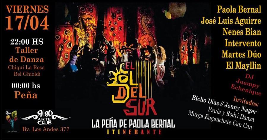 EL SOL DEL SUR. La Peña Itinerante de Paola Bernal
