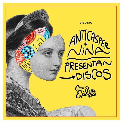 Anticasper & Nina presentan discos!