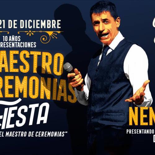El Maestro de Ceremonias, La Fiesta! En Vivo: NENES BIAN