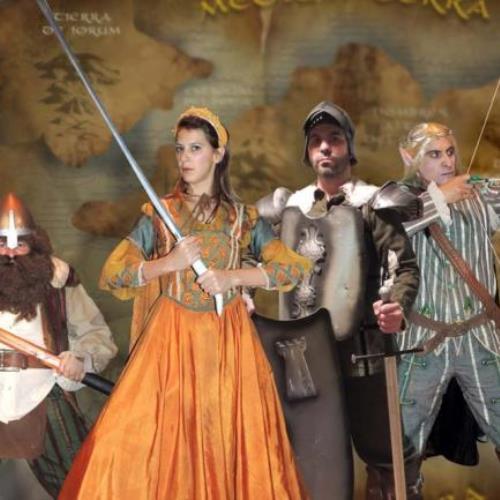"""""""La princesa dragón"""", del grupo La Huella Teatro"""
