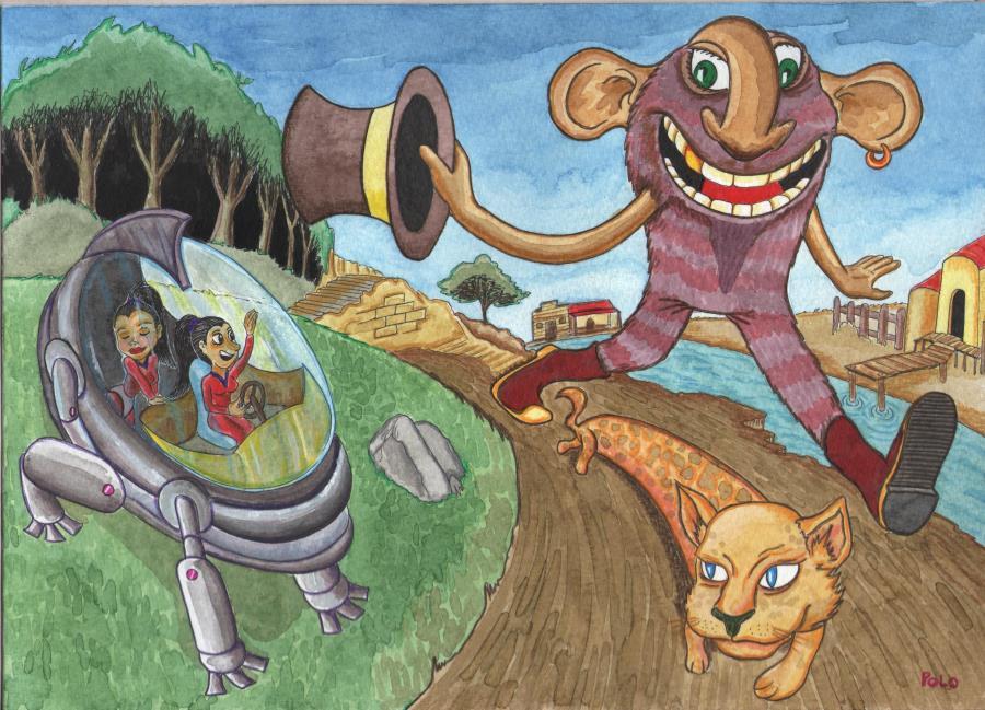 """Muestra de ilustración """"Mundo Fantástico"""""""