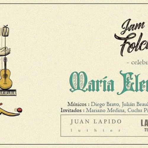 La Jam de Folclore celebra a María Elena Walsh