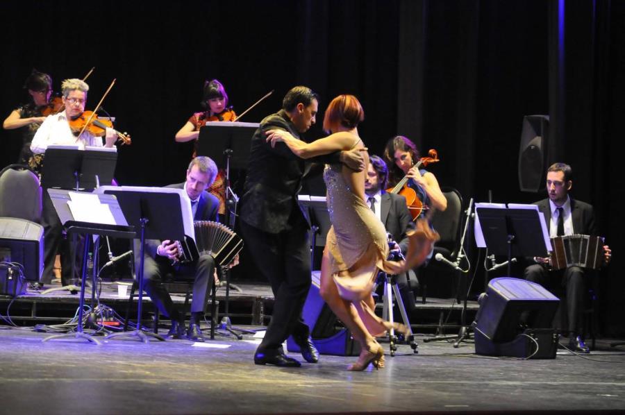 Concierto de cierre de la Orquesta de Tango en el Libertador