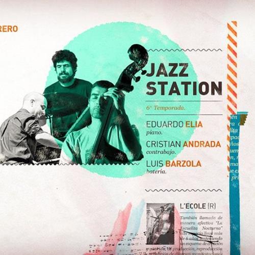 Elia, Andrada & Barzola en la Jazz Station de L'ecole :)