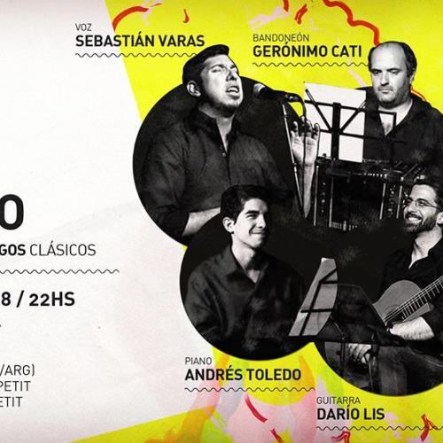 Yuyo Bravo (Cuarteto de Tangos Clásicos) en L'ecole!