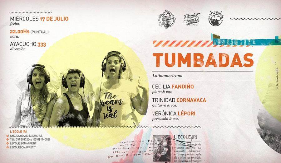 Tumbadas (Fandiño, Cornavaca & Lépori llega a L'ecole!