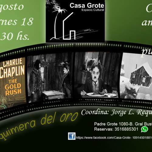 Cine, amigos y pururú - Cine debate Charles Chaplin
