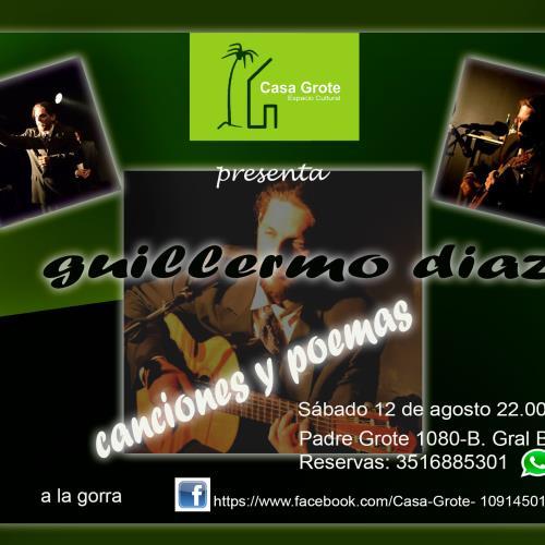 Guillermo Diaz, canciones y poemas