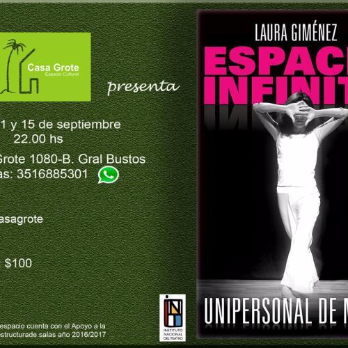 ESPACIO INFINITO - Laura Gimenéz