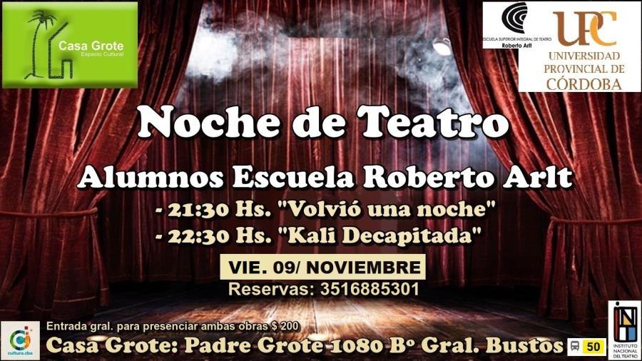 Noche de Teatro