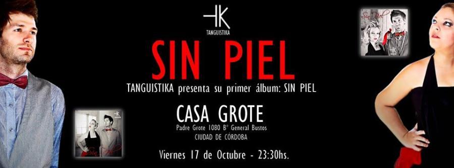 """Presentación del disco """"Sin Piel"""""""