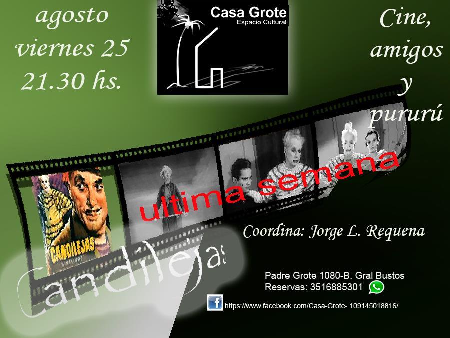 Cine, amigos y pururú- Cine debate Charles Chaplin ULTIMA FUNCIÓN