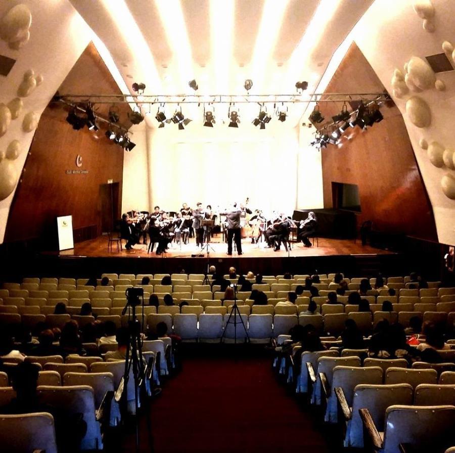 Espectáculo del Coro de Jóvenes Municipal, el Ballet y el Ensamble Municipal de Música Ciudadana