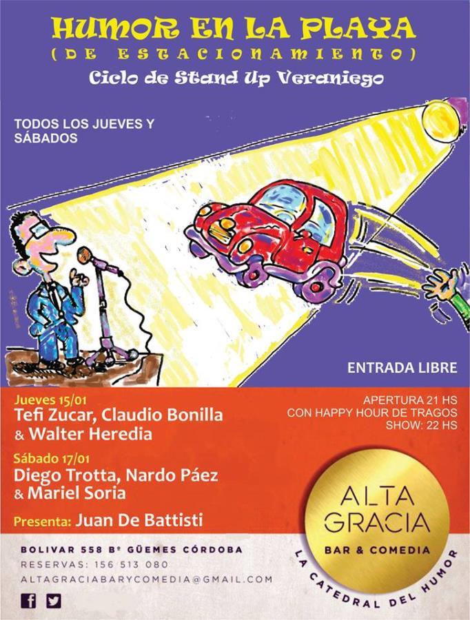 Ciclo de Stand Up Veraniego!