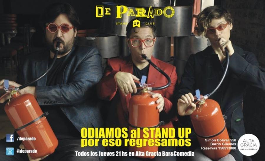 DE PARADO - Stand up Club