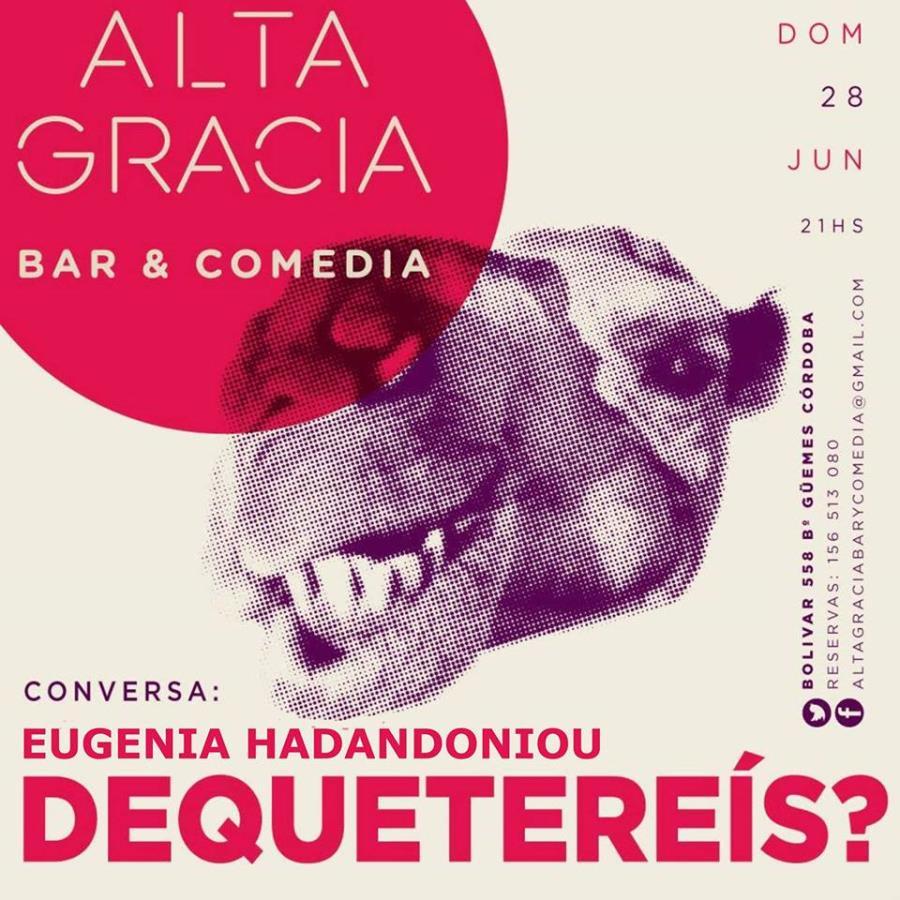 #DeQuéTeReís - Invitada: Eugenia Hadandoniou