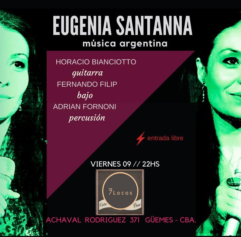 EUGENIA SANTANNA  música argentina