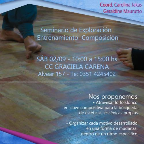Mudanzas Rítmicas - Exploraciones en las danzas populares