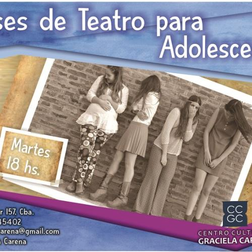 Taller de Teatro Adolescente