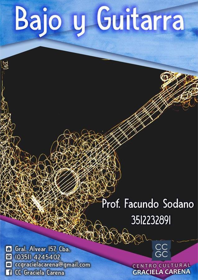 Bajo y Guitarra