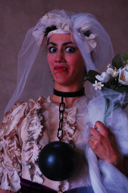Lady Ladilla en presentacion callejera!!!!