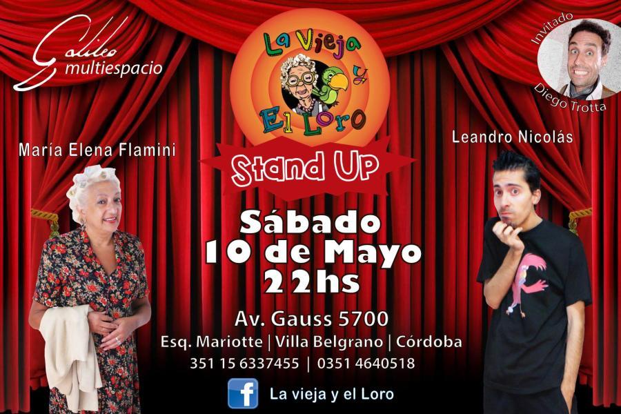 STAND UP! La vieja y el Loro