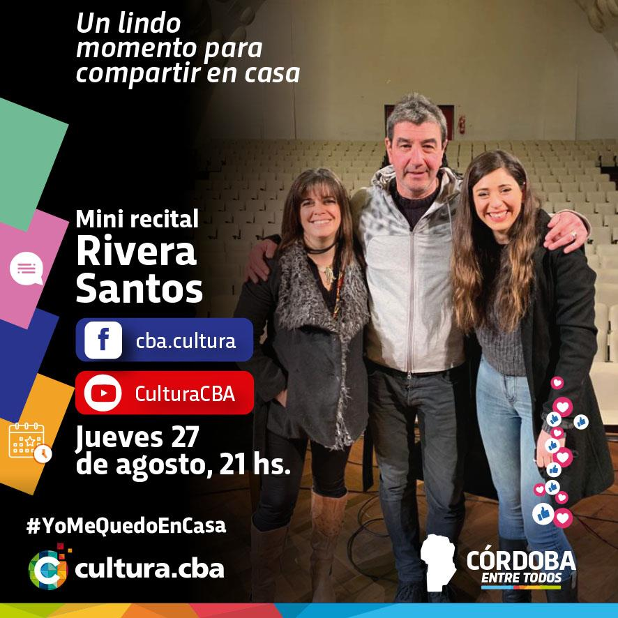 Mini recital de Rivera Santos