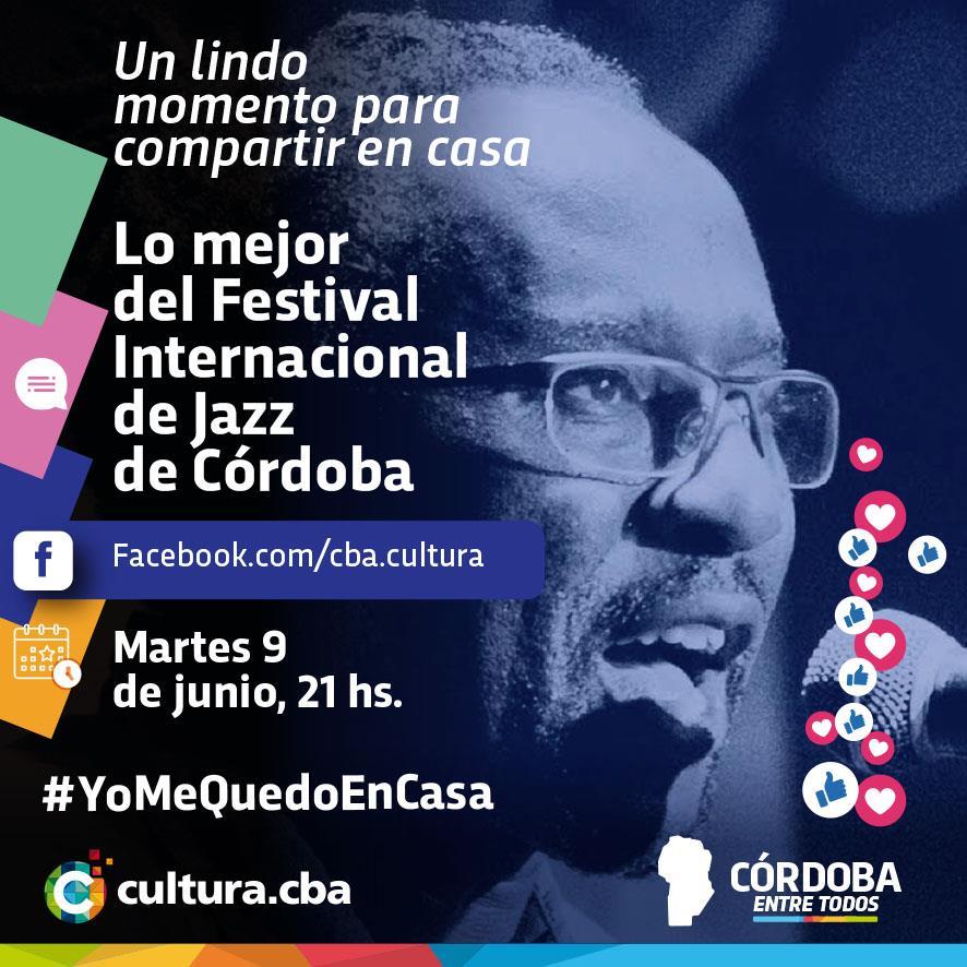 Un lindo momento para compartir en casa - Festival Internacional de Jazz de Córdoba