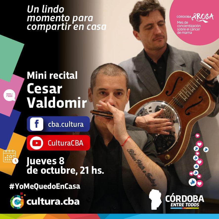 Mini recital de César Valdomir